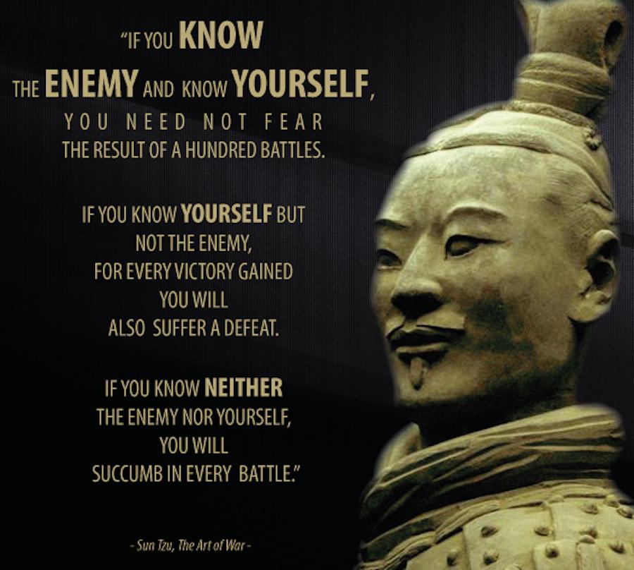 sun tzu self knowledge